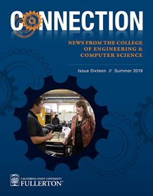 Image of the summer 2019 Connection newsletter cover