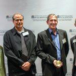Photo of Cal State Fullerton leadership and Disneyland Resort executives
