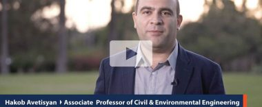 thumbnail video image of cal state fullerton faculty Hakob Avetisyan