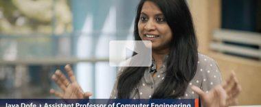 video thumbnail of Cal State Fullerton faculty Jaya Dofe