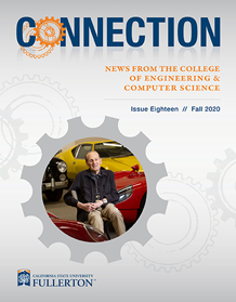 Image of the fall 2020 Connection newsletter cover